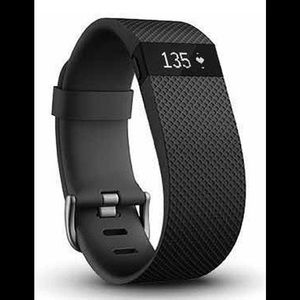NWT Fitbit Charge HR black large